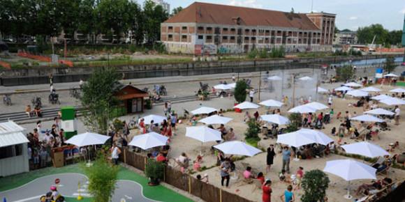 Docks d'été à Strasbourg
